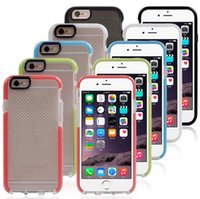 advanced package - advanced impact protection EVO Mesh Sport Tech21 iphone case Soft TPU Case Back cover for iPhone s plus s plus with retail Package