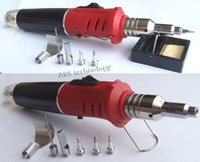 Wholesale in Professional Butane Gas Soldering Iron Kit Welding Kit Torch HS K