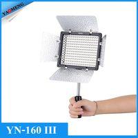 Wholesale Yongnuo Pro YN III LEDs Video Studio Photography Light Lamp K for Canon Nikon Sony Pentax Camcorder DSLR Camera