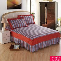 Wholesale Home Textiles cotton bed skirt bedspread Mattress Cover sheet bed covers sheets twin full queen king size bed Bed Skirts