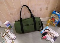 barrel country - Han edition leisure COUNTRY ROAD barrel type classic one shoulder bag aslant bag canvas bags