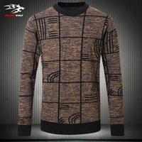bamboo code - High end men s pullover hot autumn and winter men s knit jacket scalp trend of casual sweater plus size code M XL