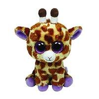 beanie baby giraffe - Ty Beanie Boos Giraffe Plush Toy Doll Baby Girl Birthday Gift cm Big Eyes Stuffed Animal Doll