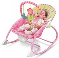 Wholesale 2016 Hot Sale Baby multifunction electric rocking chair foldable portable music vibration massage loungers Rocking Chairs