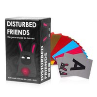 Wholesale Christmas Gift Disturbed Friends This game should be banned Cards Game In Stock Fast Shipping