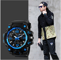 best new shows - Best selling Fashion G series mens waterproof watches outdoor sports climbing LED double show shock proof luxury brand watch