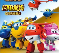 Wholesale Super wings small deformation pan Le Di love cool flying toy deformation robot toys for children