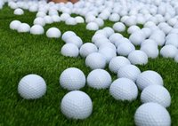 Wholesale Manufacturer of golf balls practice ball double blank The ball over a long distance Elasticity of more than Hit number more than