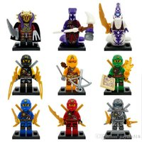 Wholesale 540pcs Ninja block building blocks minifigures plastic mini figures ghhgj models mix for