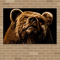bear picture frames - BEAR Canvas Painting For Living Room Exclusive Design Wall Decor Canvas Poster Canvas Painting Pictures NO Frame