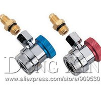 air couplers - Deluxe Adjustable AC R134a Quick Couplers Connectors Adapters for Air Conditioning