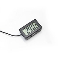 Wholesale 200pcs Digital LCD Screen Thermometer Refrigerator Fridge Freezer Aquarium FISH TANK Temperature C GT Black white Color
