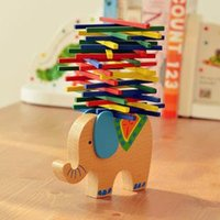 balance beams for children - Elephant camel color stick balance beam parents paternity toys puzzle game for children