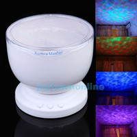Wholesale Ocean Wave LED Night Light Multicolor Projector Lamp Aurora Master Romantic