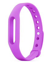 Wholesale High Quanlity Colorful Silicone Xiaomi Wrist Band Bracelet Wrist Strap For Xiaomi Miband Mi band Smart Band all compatible