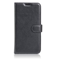 alcatel news - 2016 News Arrival Lychee grain wallet PU leather case with card holder stand For Alcatel pop s Case