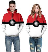 Wholesale 2016 d hooded sweatshirt printed animal food galaxy emoji Valentine sweatshirts hoodie for lovers hoodie funny jogging
