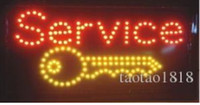 animated board - stic PVC frame Ultra Bright LED Neon Light Animated LED SERVICE Sign eye catching slogans board