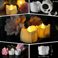 Wholesale Gorgeous Flameless Candles Flickering Romantic Battery Powered Made out of REAL WAX Super Realistic The PERFECT Decoration Uns