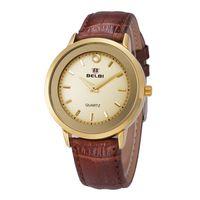 automatic quartz movement - 2016 Mens Watches Automatic Watches Men Luxury Brand MenSports Watches Crocodile Watchband Quartz Watches Alloy Case Japan Movement ForBelbi