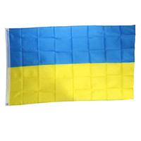 best country flags - New Arrival Best Price NEW Ukraine Flag x150cm x5ft Polyester Ukrainian Banner National Country Flag
