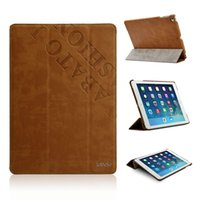 Wholesale Labato Leather Case For iPad Air Air Luxury Smart Cover Fashion Pattern Stand For Apple iPad Protective Shell Skin