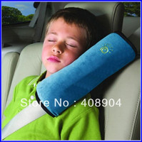Wholesale Muti color Seat Belt Shoulder Pad Car Shoulder Neck Strap Pillow Car Safety Seat Belt