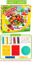 Wholesale Fancy Candy Play Doh Plasticine Tool Candy Plasticine Kit Set Play Chavant Clay Doh Playdough Fancy Candy Modeling Clay Tools