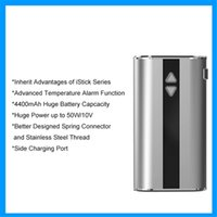 alarm sides - Electronic Cigarettes with high definition OLED viewing screen mah battery with EGO charger side charging port temperature alarm