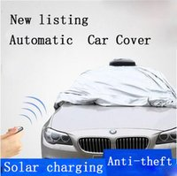 Wholesale Intelligent Car Cover Executive Storm Proof Car Cover Water Proof Anti high temperature Solar charging