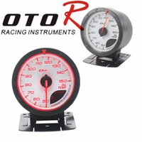 advance auto oil - Oil Temp Gauge mm Car D fi CR Advance Oil Temperature Gauge With Sensor White Face LED Auto Gauge Oil Temp Meter