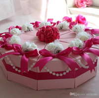 best birthday cakes - 100Pcs Big Size Cake Candy Boxes Sweet Crowns Round Wedding Favor Holders Gift Box Best Selling