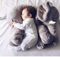 big elephant stuffed animal - 2016 Big Elephant Pillow High Quality Kids Plush Toys Stuffed Animals Help Infant baby Sleep