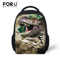 animal cell kids - uggage Bags Backpacks Hot Jurassic Park Dinosaur Kids Backpack for Boys Girls Zoo Animal Children Back Pack Tiger Mochila Infant Child Sh