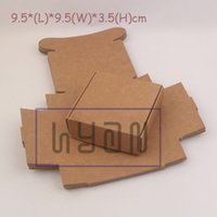 aircraft jewelry - 9 cm Brown Aircraft Cardboard Boxes Handmade Gift Jewelry Snack Packing Boxes