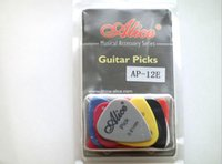 Wholesale High quality set Pieces set ABS Alice guitar pick bass pick AP E