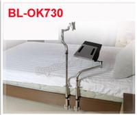 bedside laptop desk - Bedside Clamping Monitor Keyboard Holder Laptop Desk Folding Degree Rotation Free Lifting Swivel Tilt Bed Edge Mount Mouse Pad