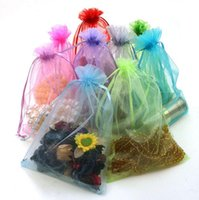 Wholesale Organza jewelry bag Gift beam port bags yarn Jewelry gift bags cm Candy Bag