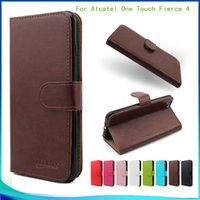 alcatel one touch phone - For Alcatel One Touch Fierce Metropcs For iphone plus galaxy note PU Leather Wallet case With Holder Phone Cover