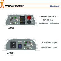 Wholesale wide volt input vdc Hz V DC AC110V V Pure Sine Wave Solar Inverter W KW Solar Grid Tie Micro Inverter
