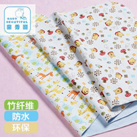 Wholesale 100 Cotton Baby Nappy Changing Layers Lamination Baby Changing Mat Urine Pad Baby Mat