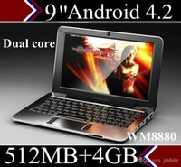 Wholesale DHL Mini laptop for kids inch jellybean Android dual core cpu lowest price Netbook quot Notebook XB09