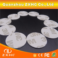 Wholesale FM1108 M1 S50 RFID Mhz Tags NFC Stickers Smart M PVC Coin Cards For HTC And Other NFC Phones