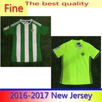 Wholesale Benwon Real Betis Balompie football jersey men s top thai quality football wear adult s short sleeve soccer jerseys sports t shirts