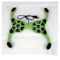 Wholesale Computer Accessories Mini Convenient to carry and use Cooling system of Octopus foldable notebook radiator Laptop Cooling Pads USB power sup