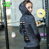Wholesale new Women Yoga Back Jacket Running Sportwear Elasticity Girl Lady Fitness Clothing