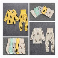 121 - Baby Clothes Baby Leggings Boys Girls Clothes Kids Pajama Sets Newborn Toddler Tops New Baby Pants Baby Sleepwear Kids Clothing Set