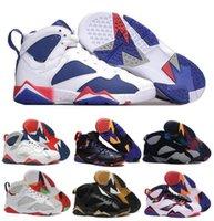 Wholesale Top Retro Basketball Shoes Authentics Men Women Real Sneakers Retro Replica Zapatos Mujer Homme Retro Shoe s VII
