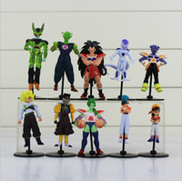 Wholesale Dragon Ball Z Goku Gohan Roshi Piccolo Freeza PVC Action Figure Model Toys set