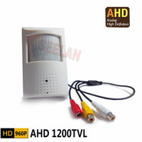 Wholesale Hidden Camera P Mini AHD Camera Night Vision IR nm megapixel PIR Camera CCTV Pinhole Camera AHD Mini Camera Ahd